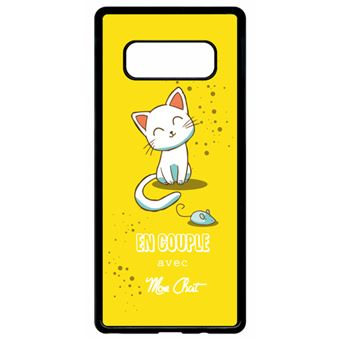 coque galaxy note 8 chat