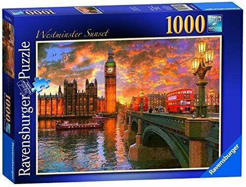 Westminster Sunset London 1000pc Casse-tête