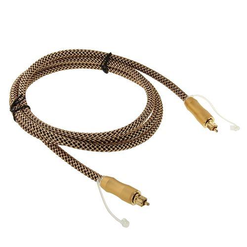 (#26) 1.5m Length Digital Audio Optical Fiber Cable Toslink M to M, OD:6.0mm