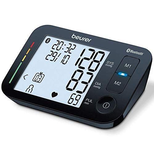 Tensiomètre bras Beurer Bluetooth BM 54 Noir
