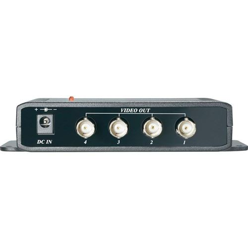 Répartiteur vidéo X4 Sygonix 43945C