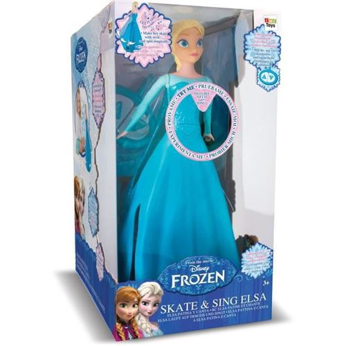 Frozen-Skate chanter Elsa contrôle radio poupée