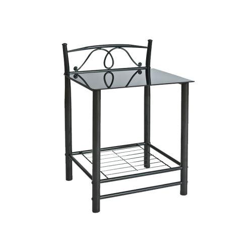 Table de chevet - ET920 - 49 x 46 x 65 cm - Noir