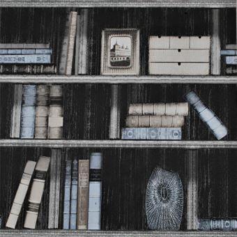 Papier Peint Livres Bibliotheque papier peint vieux livres vintage style bibliothèque rétro pour