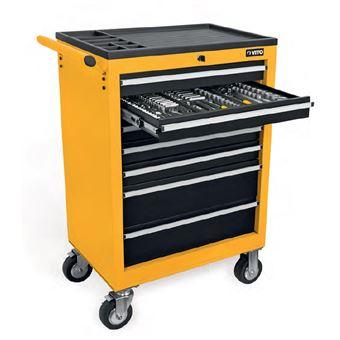 199 60 sur servante d 39 atelier vito 7 tiroirs 221 outils. Black Bedroom Furniture Sets. Home Design Ideas