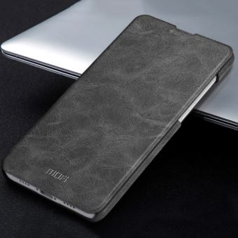 Xiaomi Mi Mix 2 Housse Etui Cuir PU Texture Peau Noir ALS55288