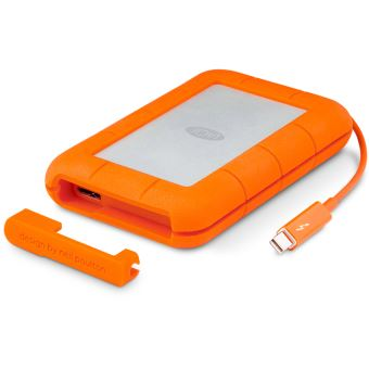 Disque dur externe LaCie Rugged 1 To Orange