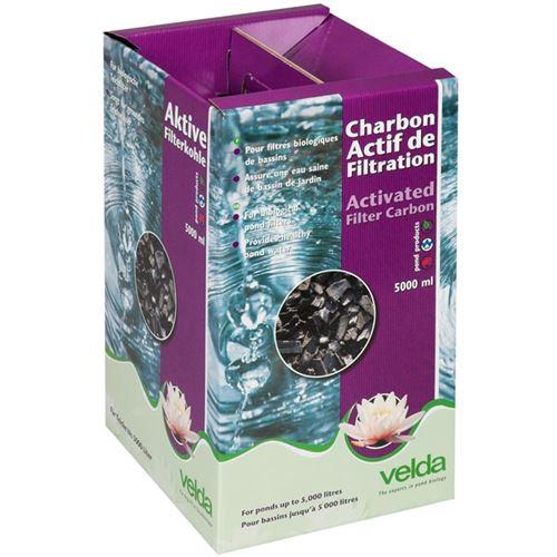Charbon actif de filtration Velda