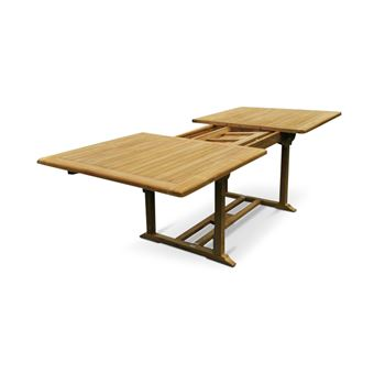 Table de jardin en teck grade a - Mobilier de Jardin - Achat & prix ...