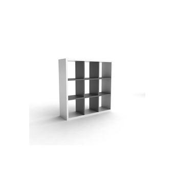 9 SIMPLY L102xP30xH102cm bibliothèque en Etagère Bois cases QBdoerCxW