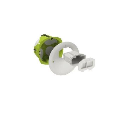 Boite d'applique DCL Multifix Air - Avec couvercle non affleurant - Diam 67mm Prof 40mm