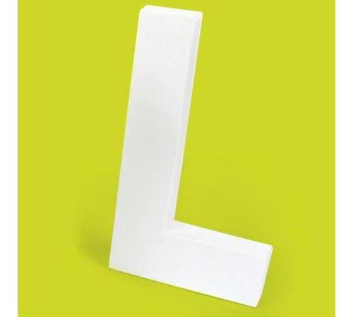 Lettre en carton L