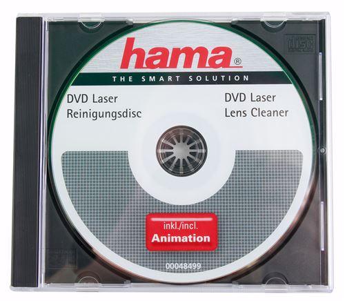 DURAGADGET DVD de Nettoyage pour tête de Lecture Laser de lecteurs CD, DVD, Blu-Ray, Playstation, Xb