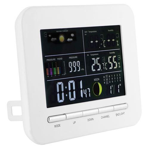 Horloge Météo Hygromètre de Thermomètre Numérique