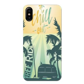 coque iphone x summer