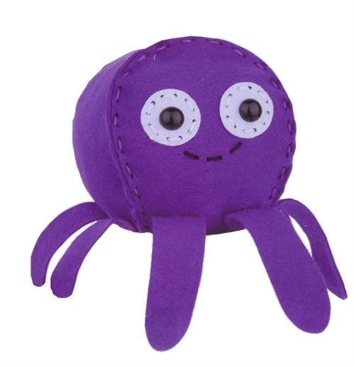 Free and Easy set de couture hobby octopus violet