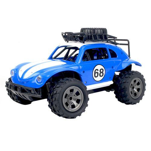 1:18 2.4G télécommande 2WD camion tout-terrain haute vitesse RTR RC jouet de voiture - Bleu