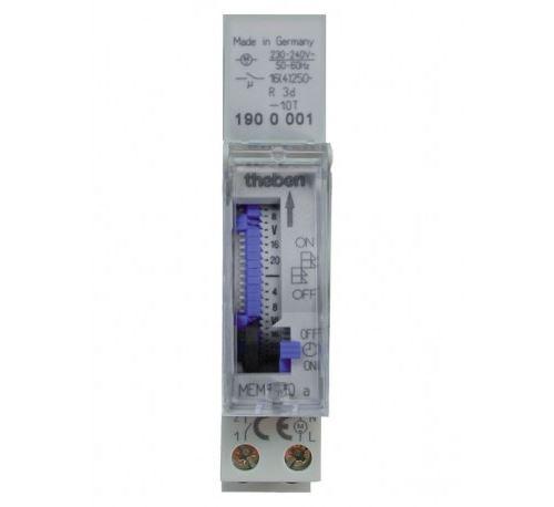 Interrupteur horaire analogique MEM 190 A