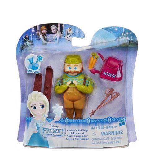 Mini princesse : reine des neiges : promenade en ski d'oaken - poupee disney princesse