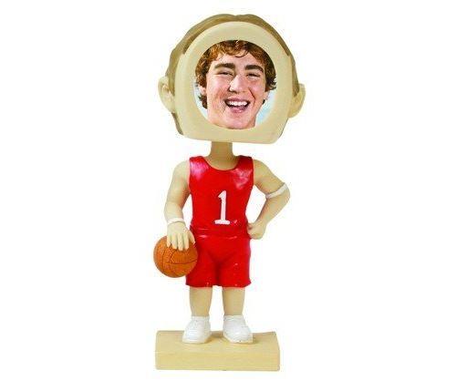 Neil Enterprises, Inc Joueur de basketball Photo Bobble Head