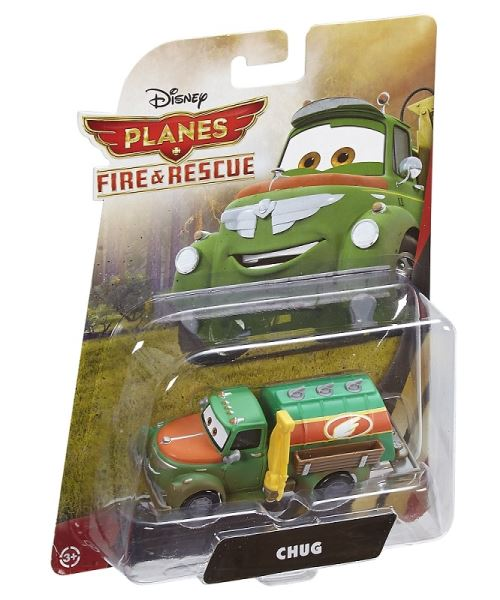 Disney planes : camion vert chug n°bn13 - véhicules cars - voiture