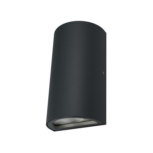 d'extérieure pour mur - ENDURA® STYLE UPDOWN / 11 - 50 W - 220…240 V - Angle de rayonnement: 110° - blanc chaud - 3000 K - Matériau: aluminium - IP44}
