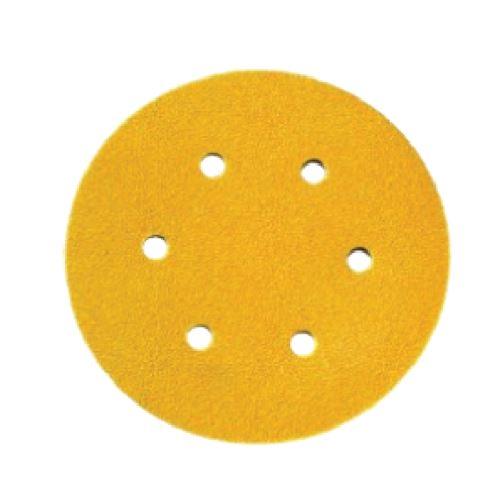 Disque papier pour bois Siafast 1960 SIA - Ø150mm - 6 trous - Grain 100 - 3337.6726.0100