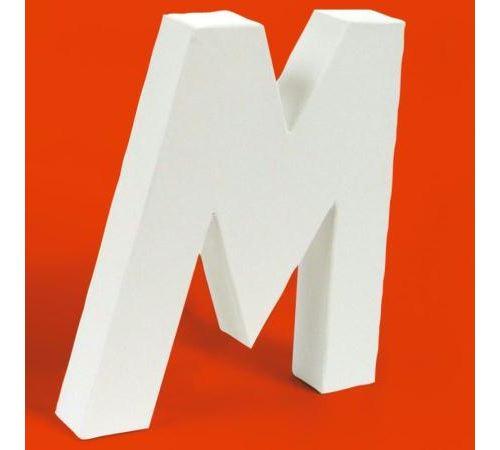 Lettre en carton M