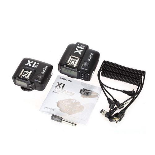 Lot: 1//émetteur, 1/r/écepteur /T/él/écommande TTL 1//8000S Acier Rapide Noir Godox x1/N 2,4/GHz sans Fil Hot Shoe d/éclencheur Flash de Kit pour Nikon 32/canaux Speed Lite/