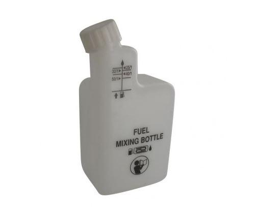 Jardin pratic bouteille en plastique pour melange 2 temps - graduee a 1/25, 1/32, 1/40, 1/50