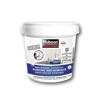 Rubson Peinture Anti Humidite Interieurs Blanc