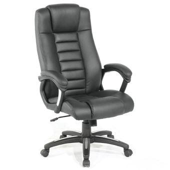 Siège Chaise Classique De Ergonomique Confortable Fauteuil Bureau Noir tsrhQd
