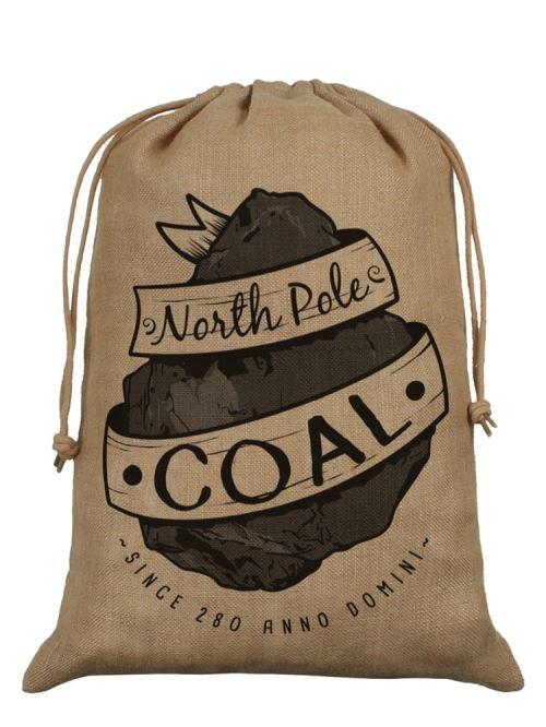 Sac de Père Noël de Hesse North Pole Coal