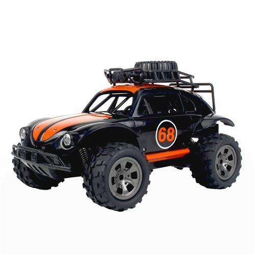 1:18 2.4G télécommande 2WD camion tout-terrain haute vitesse RTR RC jouet de voiture - Orange