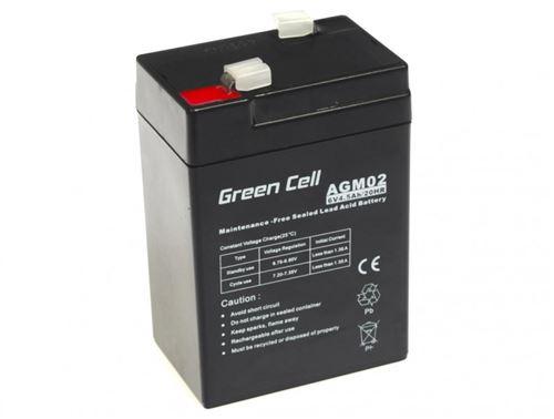 Green Cell AGM Batterie au plomb 6V 14.5Ah