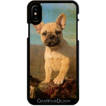coque iphone x bouledogue
