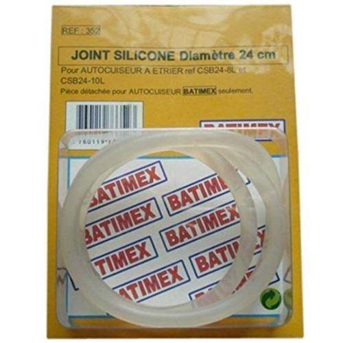 Joint en silicone Ø24cm pour autocuiseur cocotte minute à étrier CLASSIQUE