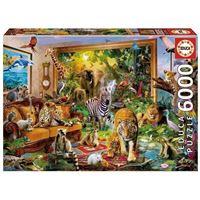 Puzzle Educa 6000 Entraînement en chambre