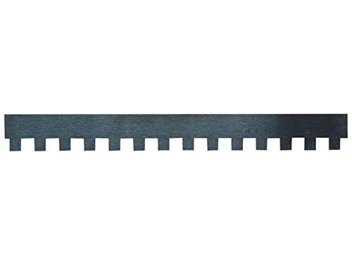 JUNG Poignée He823006 de remplacement des dents de la lame, professionnel, 6 mm x 6 mm, longueur 280 mm
