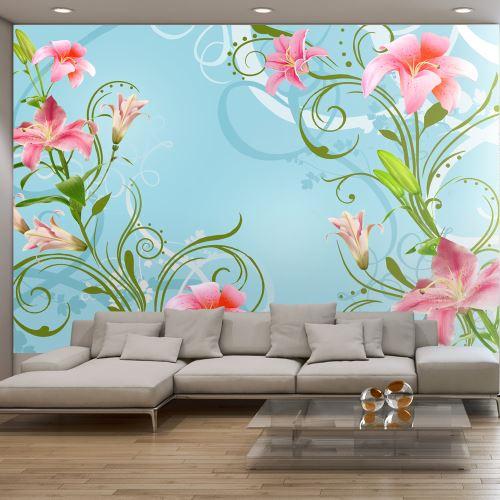 Papier peint - Subtle beauty of the lilies II - Décoration, image, art |