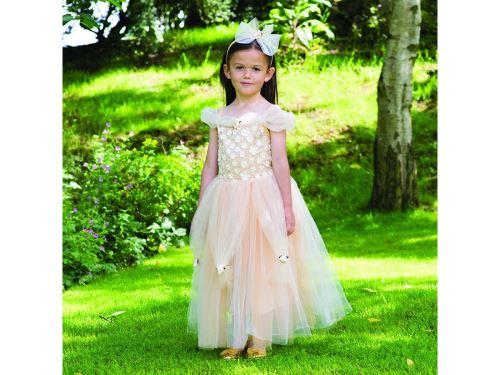 Travis - Costume Golden Princess gold - 9 à 11 ans