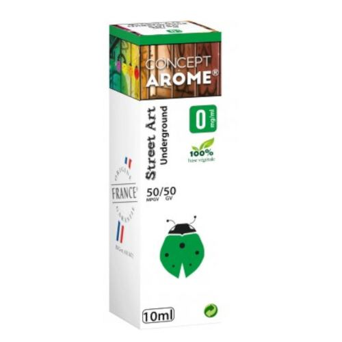 Conceptarôme - E-liquide Mixte Prenium – Underground 0 mg.