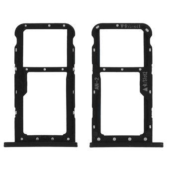 Tiroir Double Carte Nano Sim Huawei P20 Lite Adaptateur Remplacement Noir Accessoire Pda Et Smartphone Achat Prix Fnac