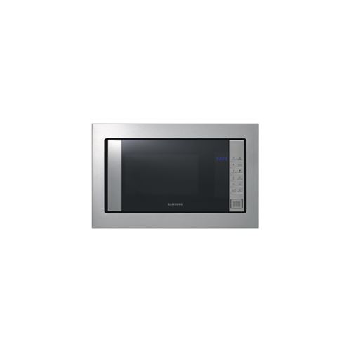micro-ondes encastrable samsung 1034086 micro-ondes - solo - 20 l - led bleues - finition: inox