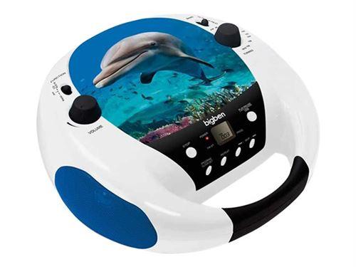 Portable Radio CD MP3 Player Dauphins cd52 Dolphin