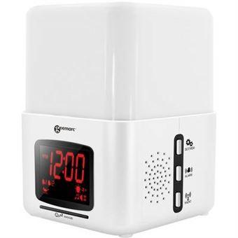 GEEMARC Radio Réveil avec vibreur et luminothérapie Wake'n'Shake LIGHT