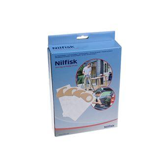 authentic innovative design discount Lot de 4 sacs synthetiques pour aspirateur nilfisk