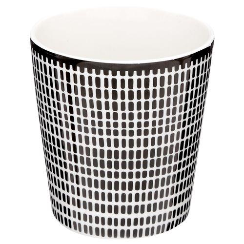 Mug ethnique Bohemia - 260 ml - Noir et blanc