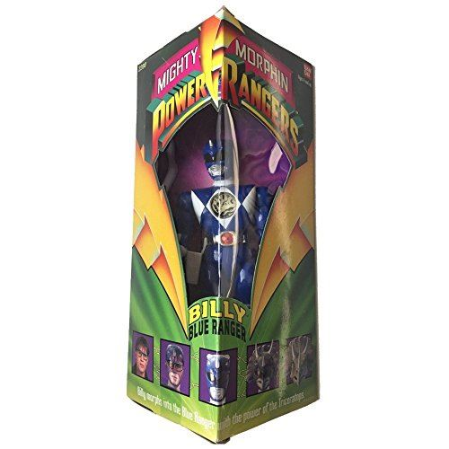 Power Rangers d'origine Mighty Morphin BILLY BLUE RANGER 8 figurine articulée (1993)