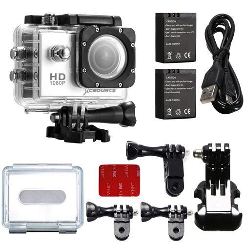 Étanche 1.5 LCD voiture DVR FHD 1080p Sport caméscope + accessoires LF556